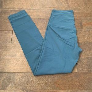 """Lululemon Align Pant II *25"""" Petrol Blue Size 4"""